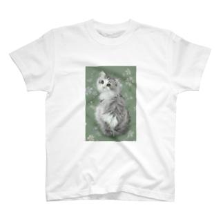 スコティッシュフォールドのトムさん2 Tシャツ