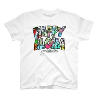 ALOHA monster Tシャツ
