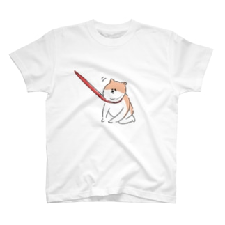 散歩イヤイヤワンちゃん Tシャツ