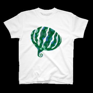 KatsuのgreensxartTシャツ