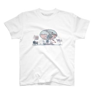 Alien Vacation Tシャツ