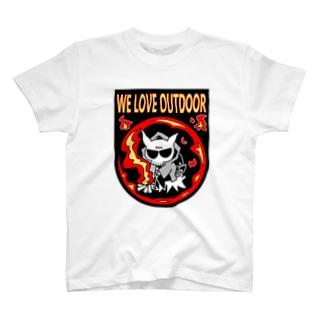 焚火悪魔その2 Tシャツ