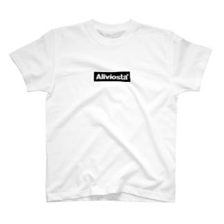 Aliviosta Box Logo Tシャツ
