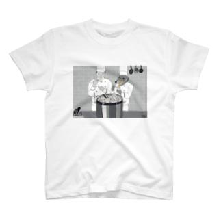 おいしさのヒミツ。 Tシャツ