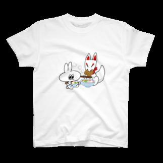 ひろせ ようのUDONDON Tシャツ