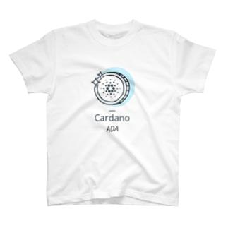 仮想通貨 ADA -illust- Tシャツ