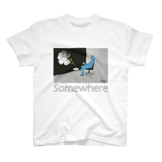 Somewhere Tシャツ
