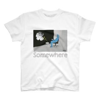 Somewhere Tシャツ