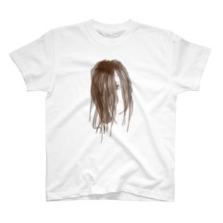 peeping_eye Tシャツ