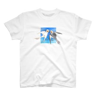 Cockatiels Tシャツ