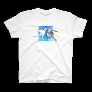 きみちゃんの部屋のCockatiels Tシャツ