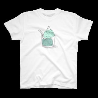 石川ともこのさわやかチョコミン党Tシャツ