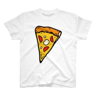 わらしべピザ1枚目(焼きたて) Tシャツ