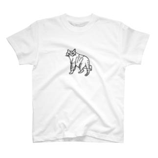 nekostalker Tシャツ