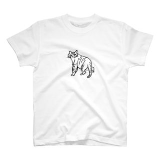 megumiillustrationのnekostalkerTシャツ