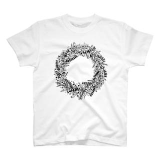 wreath #2 Tシャツ