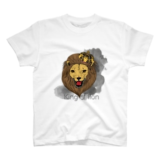 King of lion Tシャツ