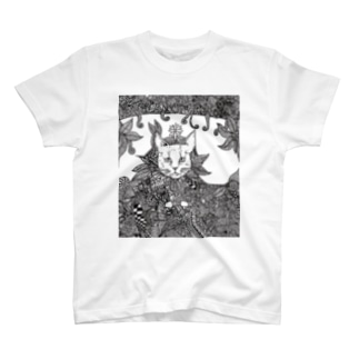 猫の王様 Tシャツ