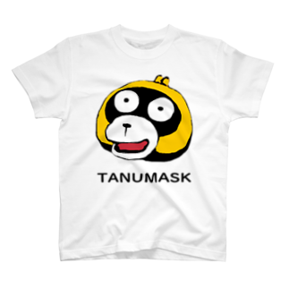 タヌマスクのタヌマスク Tシャツ