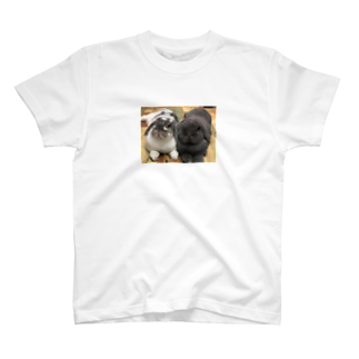 うさかふぇmimiSHOPのサスケとゴマ Tシャツ
