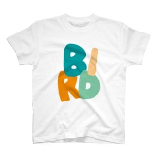 BIRD(カワセミブルー) Tシャツ