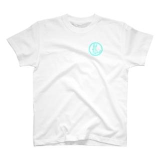 うさっぺん水色 Tシャツ