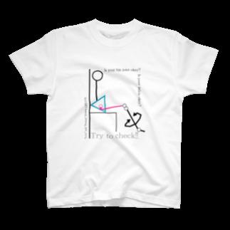 DAISY CREATE | デイジークリエイト | 愛と情熱を日常で感じるの股関節の動きは大丈夫?Tシャツ
