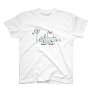 旅する文鳥 Tシャツ
