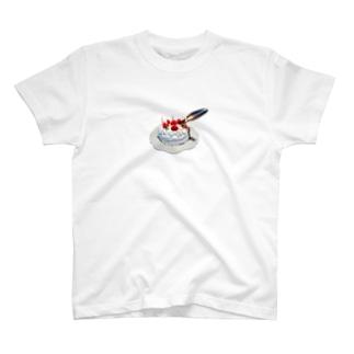 入刀ケーキ🎂 Tシャツ