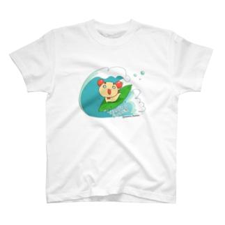 【やさいぬ×サマー】波乗りとまよ Tシャツ