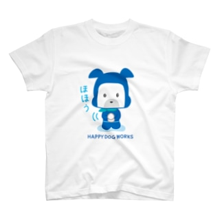 HAPPY DOG WORKS 忍者_ほほう Tシャツ