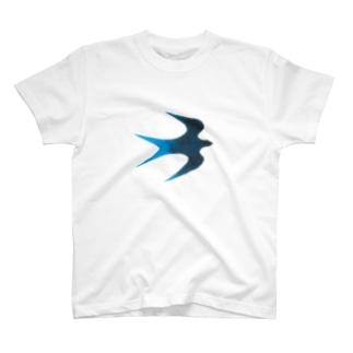 青い鳥 Tシャツ