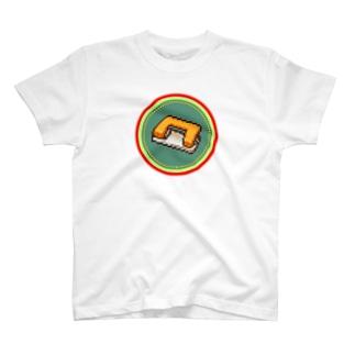 ピクセルアート-穴あけパンチ Tシャツ