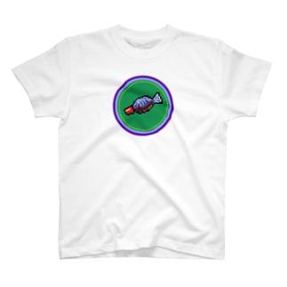 ピクセルアート-醤油入れ- Tシャツ