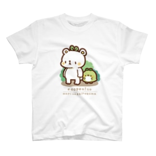 森のしろくま Tシャツ