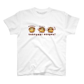 たこぺんトリオ Tシャツ