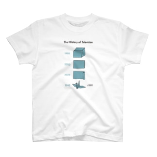 テレビジョンの歴史 03 Tシャツ