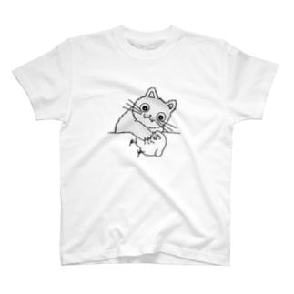 子猫ちゃん Tシャツ