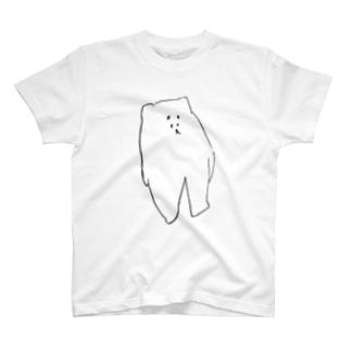 しろごまちゃん Tシャツ