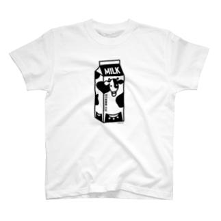 牛乳パック02 Tシャツ