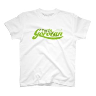 gorotan LOGO Green Tシャツ