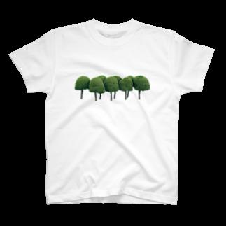 Yusuke SAITOHの木Tシャツ