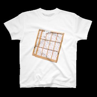 Yusuke SAITOHのキリンの障子 Tシャツ