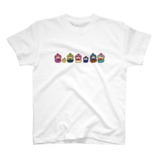 マトリョーシカ Tシャツ