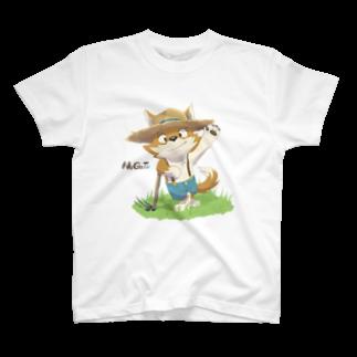 パピルスのFarmer Tシャツ