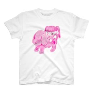 進め〜犬 Tシャツ