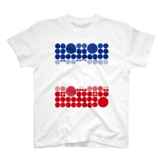 水玉シリーズ41 Tシャツ