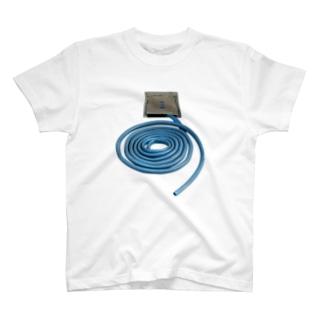 うずまきホース Tシャツ