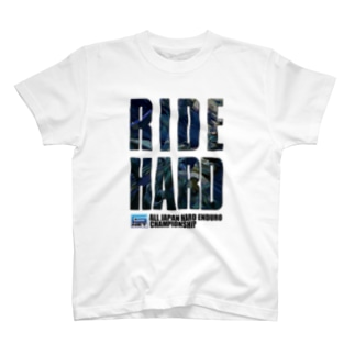 G-NET OFFICIAL GOODS RIDE HARD BLUE Tシャツ
