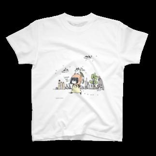 ほっかむねこ屋@10/5~10/10 吉祥寺駅 期間限定ショップのWhere Tシャツ